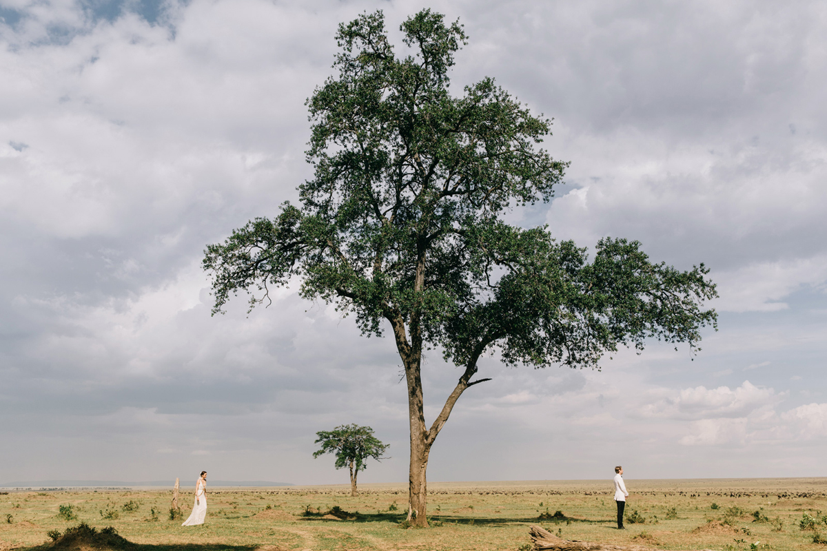 Masai Mara Wedding by Jonas Peterson