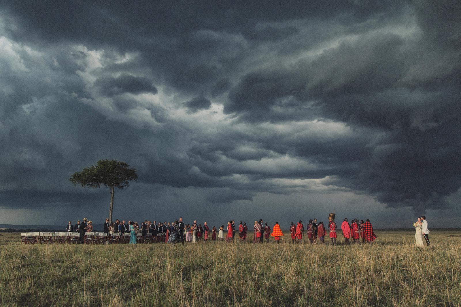 Maasai Mara Wedding Ceremony