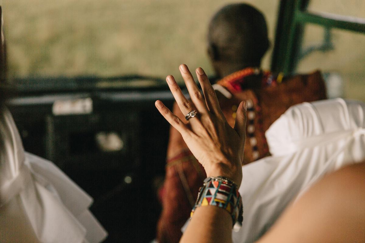 Masai Mara Wedding by Jonas Peterson